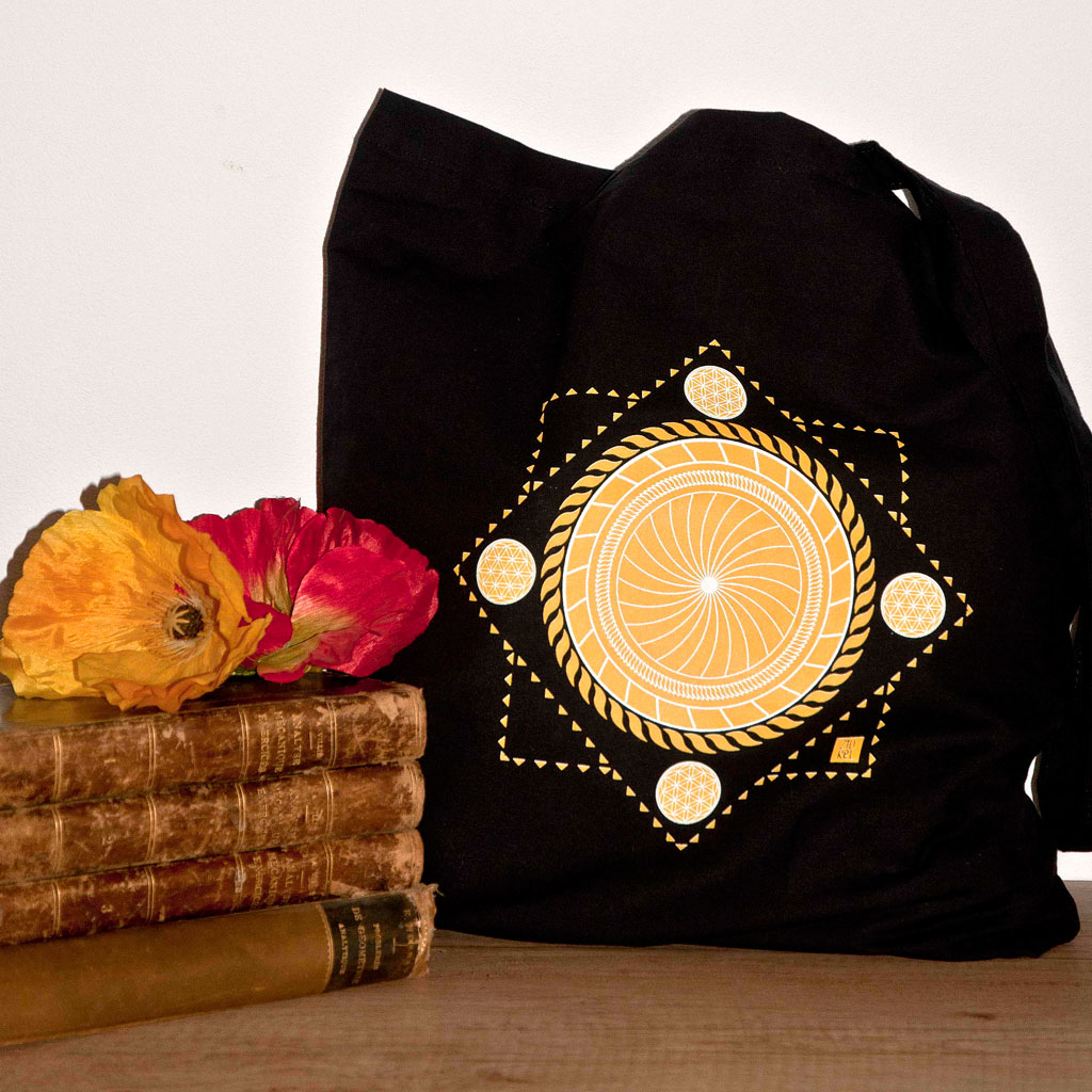 Traista traditionala simbol solar