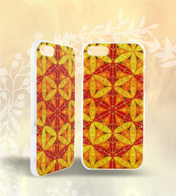 Carcasa telefon printata - motiv traditional Foarea vietii