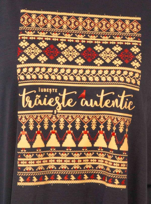 Bluza Larga Iubeste! Traieste autentic!