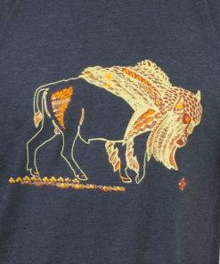 Tricou bleumarin Zimbrul