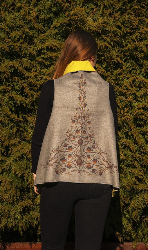 Cardigan motiv floral_spate_ Ziurel